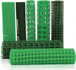 Садовая сетка квадратная 50х50 (1х20м) зеленая