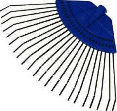 Грабли веерные большие 20зуб. на пластм.основе ГВ-С 646 (380*340мм)