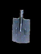 Лопата копальная прямоугольная (рельсовая сталь)