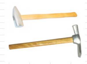 Молоток штампованный с квадратным бойком 400гр., цинк