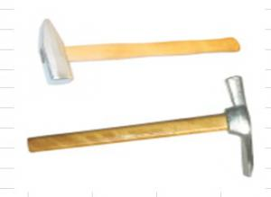 Молоток штампованный с квадратным бойком 800гр., цинк