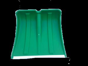 """Лопата снеговая """"Снежок"""" Цветная в сборе с пластиковым чер и V-обр ручкой"""