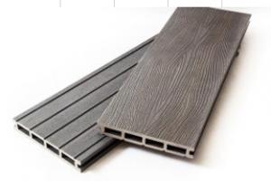 Террасная доска «MALIBU – 3D» Серый дым (25*150*3000мм)