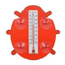 Термометр оконный «Божья коровка» 17*17см