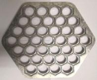 Форма для пельменей 6-ти гранная металлическая