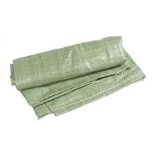 Мешок для мусора зеленый 55x95см, ткань/полипропилен