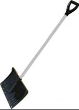 """Лопата снеговая """"Крепышок"""" в сборе с алюминиевым черенком и V-обр ручкой"""