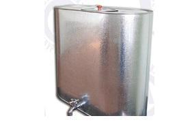 Бак для воды 100л оцинкованный  (Омутнинск)