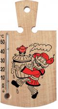 "Термометр ""Кухонная дощечка"" 0+50   165*90мм"