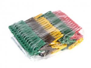 Прищепка пластм. 120шт. в упаковке