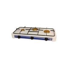 Плита газовая 3-конфорки EN-003, 2*2800 Вт + 2400 Вт