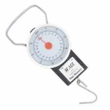 Весы безмен 22кг. с рулеткой