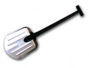 Лопата автомобильная №21 алюминиевое лезвие с ребрами жесткости