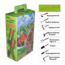 """Набор садового инструмента """"Дачник """" (7 предметов)"""