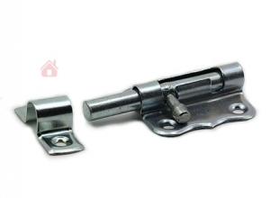 Шпингалет-задвижка ЗТ-40 полимер.