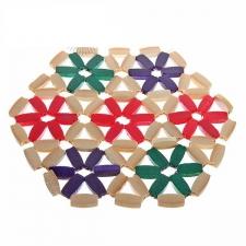 Подставка под горячее круглая (бамбук)
