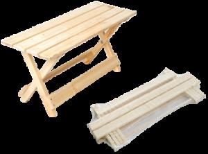 Скамейка деревянная раскладная