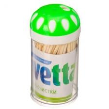 Зубочистки 100шт в пластиковой упаковке