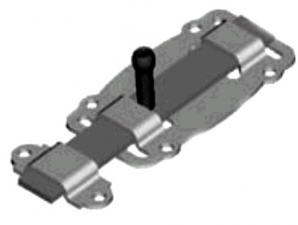 Задвижка ЗД-100-Пл. полимер