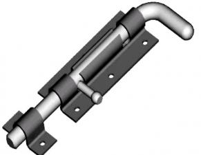 Задвижка ЗД-110-Гб. полимер.
