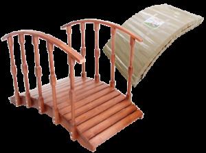Мостик декоративный деревянный