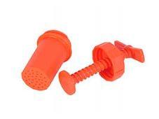 Пресс для чеснока пластм (оранжевый)