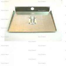 Лопата 3-х бортная 500х375мм алюминевая  (без планки)