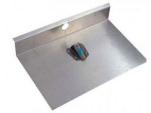 Лопата 1-но бортная 500х600мм алюминевая  (без планки)