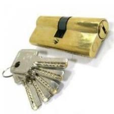 Цилиндрический механизм 70  (зол.ключ-ключ, перфоключ)
