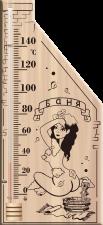 Термометр для сауны 110*265мм ТС №5