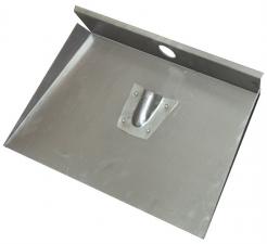 Лопата 3-х бортная 500х600мм алюминевая  (без планки)
