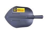 Лопата путейская щебеночная ЛПЩ-М2.12 рельсовая сталь Россия